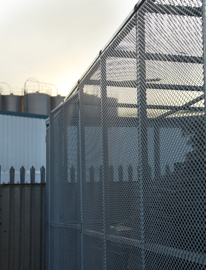 security-cage-in-sunset
